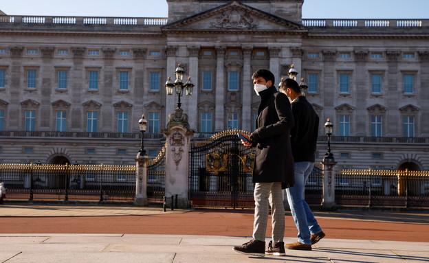 נגיף הקורונה בבריטניה (צילום: רויטרס)