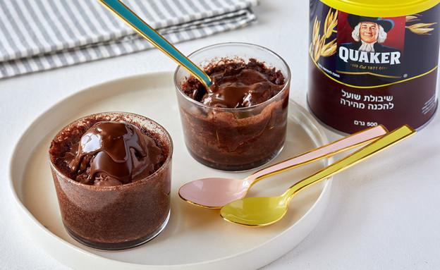 עוגת שוקולד במיקרו (צילום: טל סיון צפורין)