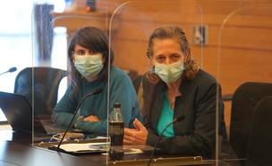 ראש שירותי בריאות הציבור במשרד הבריאות, שרון אלרעי (צילום: שמוליק גרוסמן, דוברות הכנסת)