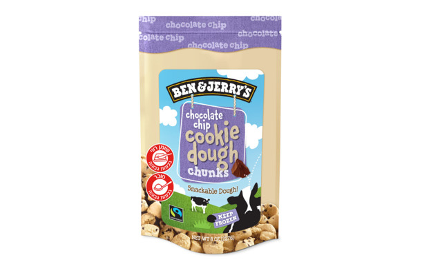 צ'אנקים של בצק עוגיות שוקולד צ'יפס, בן אנד ג'ריס (צילום: יחסי ציבור)