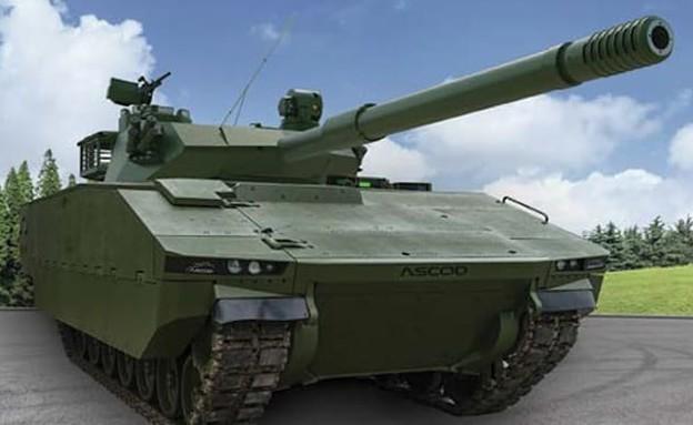 טנק של אלביט (צילום: אלביט מערכות)