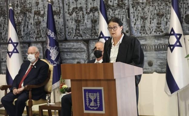 נשיאת בית המשפט העליון אסתר חיות  (צילום: הרשות השופטת)