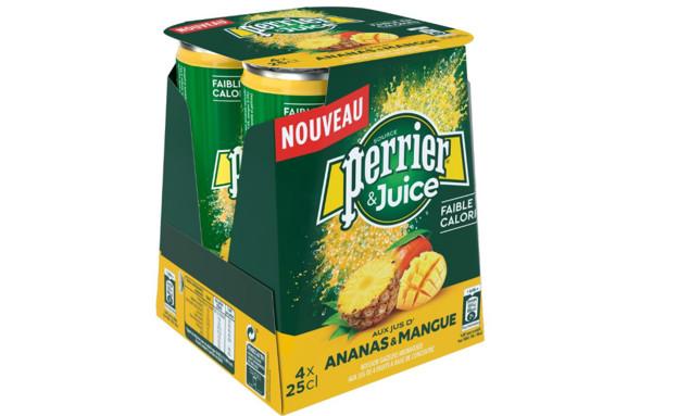 משקה Perrier & Juice בטעמים (צילום: יחסי ציבור)