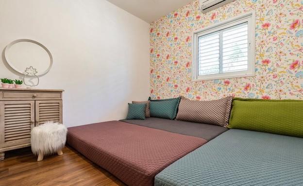 חדרי ילדים משותפים, עיצוב הילה ברונשטיין - 1 (צילום: יאנה דודלר)