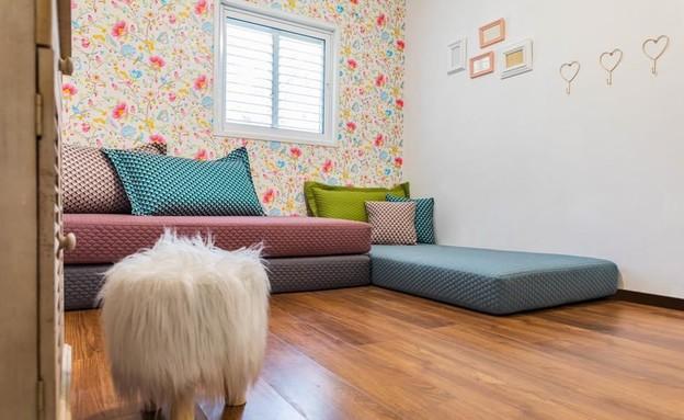 חדרי ילדים משותפים, עיצוב הילה ברונשטיין - 2 (צילום: יאנה דודלר)