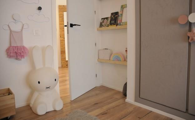 חדרי ילדים משותפים, עיצוב מיכל מזרחיד - 2 (צילום: דודו מזרחיד)