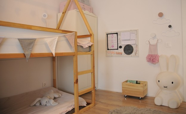 חדרי ילדים משותפים, עיצוב מיכל מזרחיד - 3 (צילום: דודו מזרחיד)