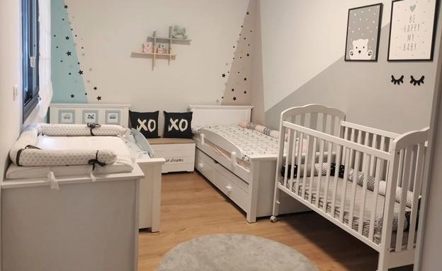 חדרי ילדים משותפים, עיצוב עינת אביב (צילום: אירה שחר)