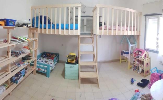 חדרי ילדים משותפים, עיצוב קרן יפה סבג - 2 (צילום: קרן יפה סבג)