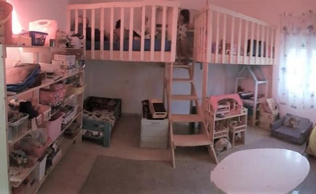 חדרי ילדים משותפים, עיצוב קרן יפה סבג (צילום: קרן יפה סבג)