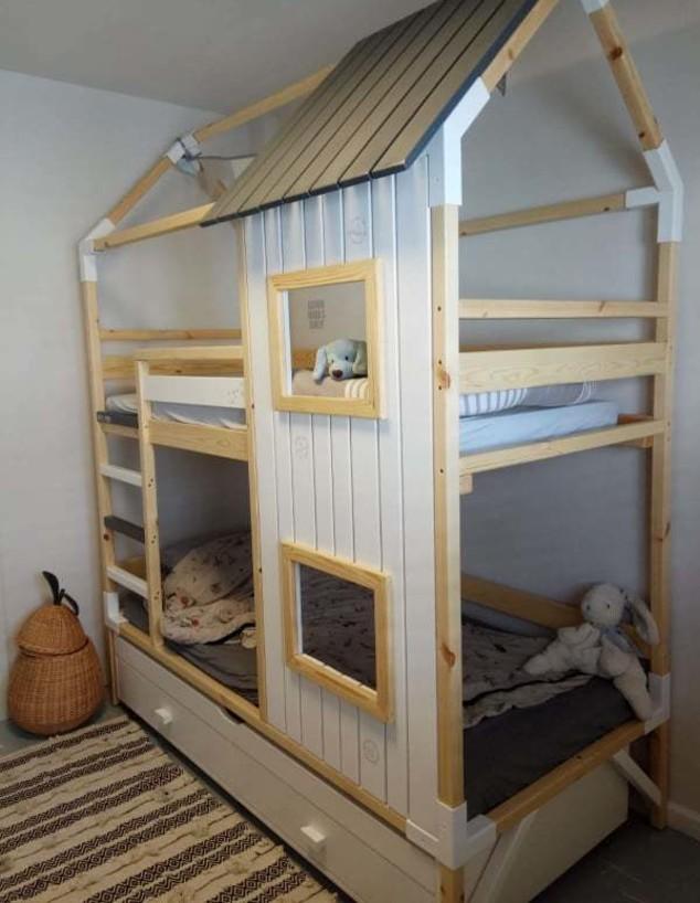 חדרי ילדים משותפים, ג, עיצוב עמינדב נחום - 2 (צילום: עמינדב נחום)