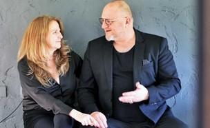 תמיר ליאון ואורלי רובינזון (צילום: לימור זומר, יחסי ציבור)