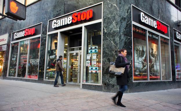 חנות של גיימסטופ בניו יורק (צילום: rblfmr, shutterstock)