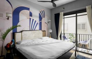 6 - חדר שינה (צילום: אורן עמוס באדיבות גולדשטיין גלרי טפטים)