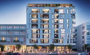 פרויקט מיקרו אבן גבירול (צילום: תכנון: הפלטפורמה העירונית אדריכלים, הדמיה: סטודיו DIVISION3)