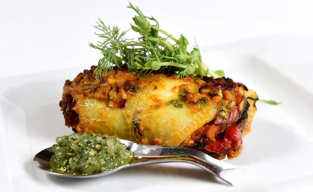 גלילת דג סול (צילום: קובי קואנקס, אוכל טוב)