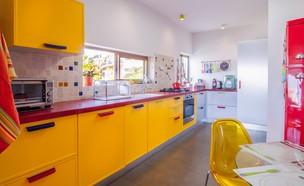 בית בחיפה, יחידה 2, עיצוב אסנת ברוקמן (צילום: אילן לופו)