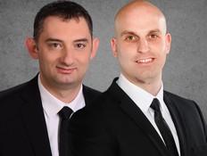 עורכי הדין עמרי לשם ואבי פינרסקי (צילום: פלג אלקלעי וניר קידר)