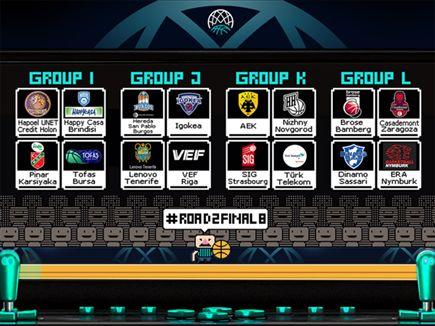 ההגרלה המלאה (FIBA) (צילום: ספורט 5)