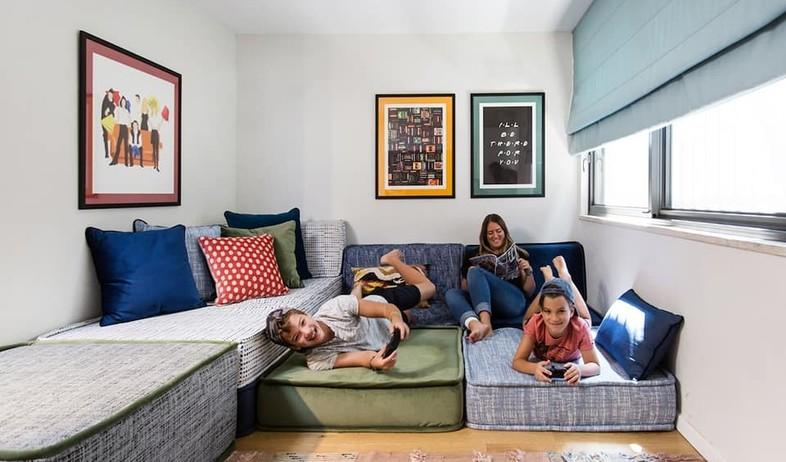 פינות משפחה, עיצוב קרן גרוס (צילום: שירן כרמל)