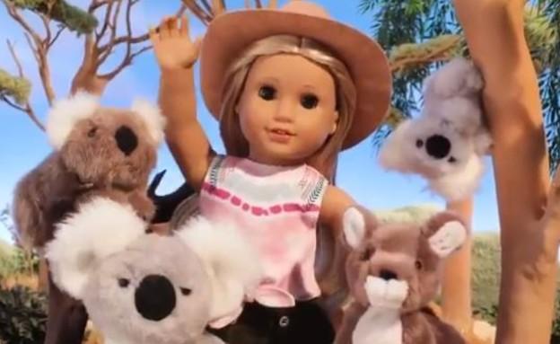 """קירה ביילי (צילום: מתוך עמוד הטוויטר """"American_Girl"""")"""