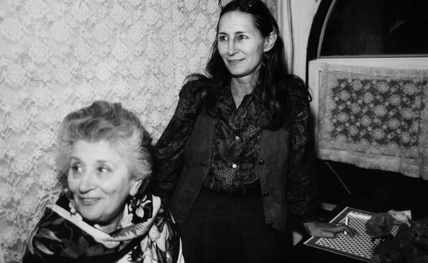 רות דיין עם בתה יעל (צילום: פלאש 90)