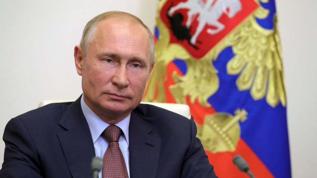 ולדימיר פוטין (צילום: Mikhail KLIMENTYEV / SPUTNIK / AFP, GettyImages)