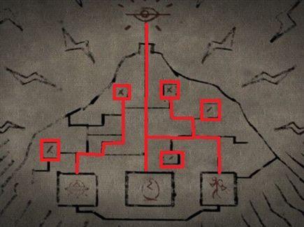 הסופים האלטרנטיביים של המשחק והמטלות שעל השחקנים לבצע על מנת לסיים (צילום: ספורט 5)