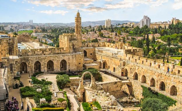 חומות ירושלים (צילום: Nina Zorina, shutterstock)