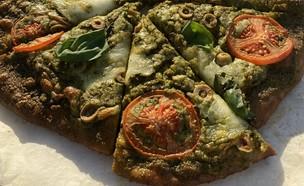 פיצה ירוקה - ירדן הראל (צילום: ירדן הראל)