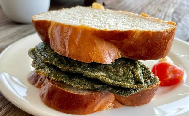 כריך חביתת ירק של ריטה (צילום: ריטה גולדשטיין)