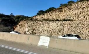 רכב נוסע נגד כיוון התנועה (צילום: מרב מלחי בן הרוש)