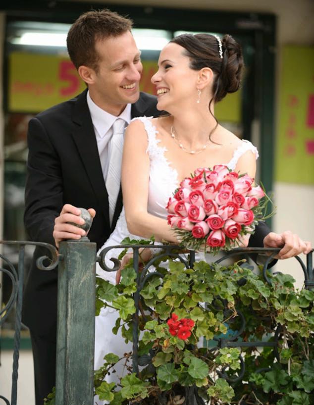 הזוגות שהכירו בעבודה - שירית ועודד (צילום: אלוניס צילום, באדיבות המצולמים)
