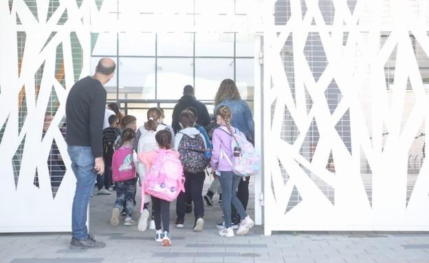 ילדי הרצליה חוזרים ללימודים בהתאם למתווה משרד החינ (צילום: דוברות עיריית הרצליה)
