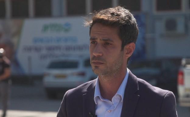 אביחי שטרן, ראש עיריית קריית שמונה (צילום: חדשות 12)