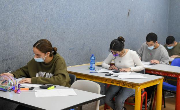 קורונה בבית ספר, חינוך, לימודים (צילום: פלאש 90)
