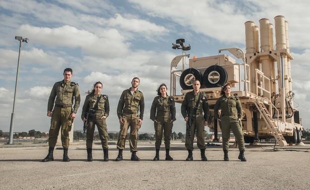 """חיילי מערך ההגנה האווירית בצה""""ל (צילום: דובר צה""""ל )"""