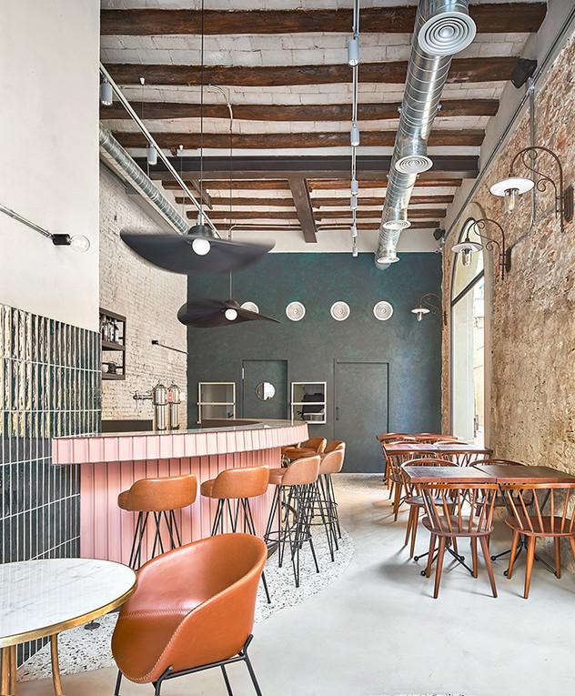 ליאת אליאב, ג, מסעדת טאפס בברצלונה - 3