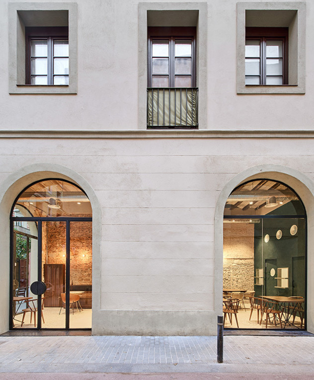Nina_BCN - עיצוב מסעדת טאפס בברצלונה עיצוב ליאת אליאב