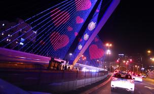 """""""ירושלים בעקבות האור""""'  (צילום: באדיבות הרשות לפיתוח ירושלים)"""