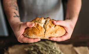 אפיית לחם (צילום:  Nomad_Soul, shutterstock)