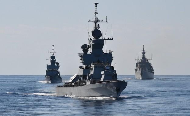 הספינות (צילום: COM_SNMG2, Twitter)