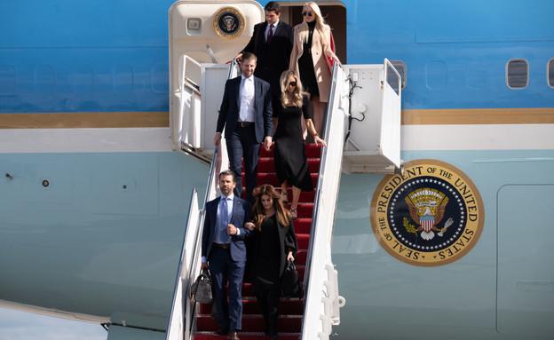 טראמפ ומלניה (צילום: Noam Galai Getty Images)