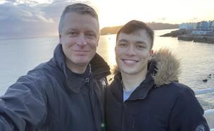 לוק פולארד וסידני רוברטסון (צילום: מתוך עמוד הטוויטר LukePollard@, twitter)