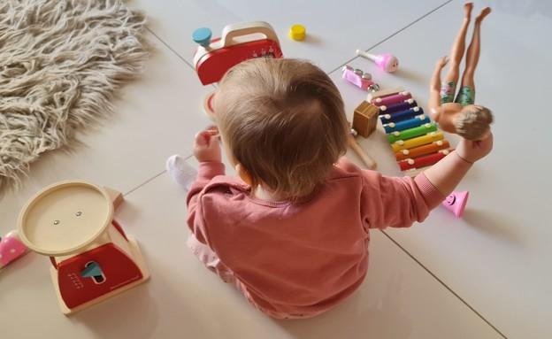 גבריאלי והצעצועים (צילום: צילום פרטי)