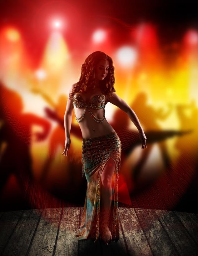 רקדנית בטן - תמונת אילוסטרציה (צילום: By fotogestoeber, shutterstock)