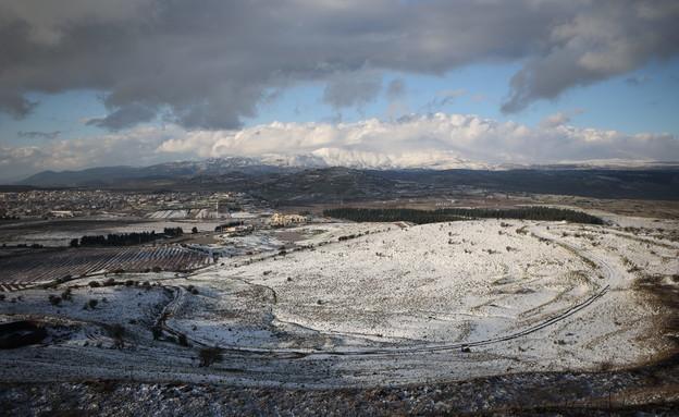 גבול ישראל סוריה (צילום: Maor Kinsbursky, פלאש 90)
