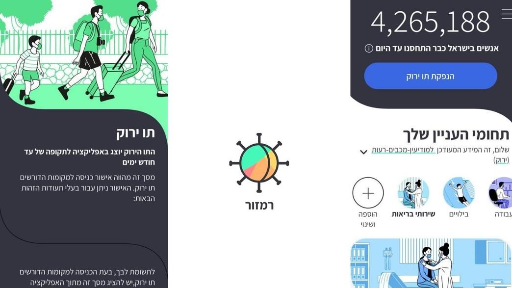 אפליקציית רמזור זמינה להורדה