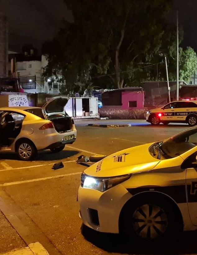 פיצוץ המטען בחיפה (צילום: דוברות משטרת ישראל)