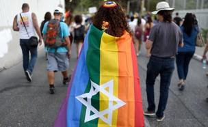 מצעד הגאווה בירושלים (צילום: Gili Yaari / Flash 90, פלאש 90)